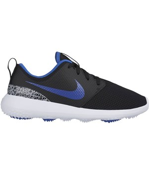 Nike Golf Junior Roshe Shoes Black/Blue/White