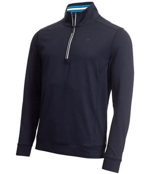 Calvin Klein Golf Orbit Half Zip Pullover Navy/Blue
