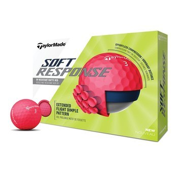 TaylorMade Soft Response Red Golf Balls  - Click to view a larger image