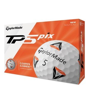 TaylorMade TP5 Pix Golf Balls  - Click to view a larger image