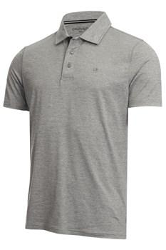 Calvin Klein Golf Newport Polo Shirt Silver  - Click to view a larger image