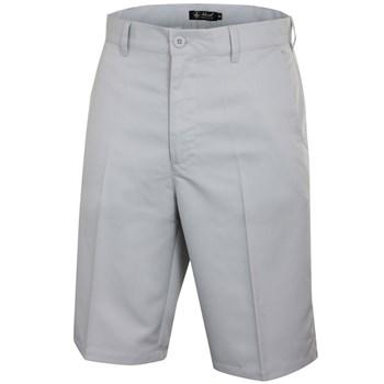Island Green Tour Golf Shorts Silver Grey