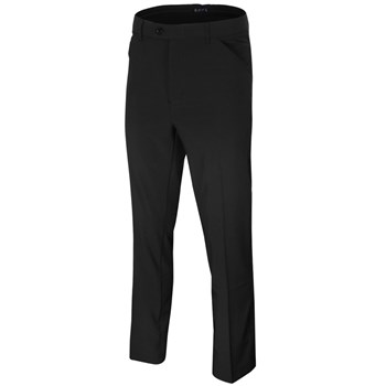 Island Green Tapered Stretch Breathable Trousers Black