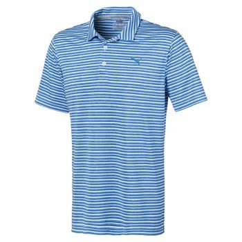 Puma Links Polo Blue  - Click to view a larger image