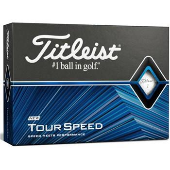 Titleist Titleist Tour Speed Golf Balls White  - Click to view a larger image
