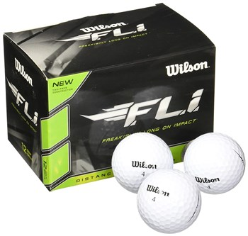Wilson FLI Golf Ball White  - Click to view a larger image