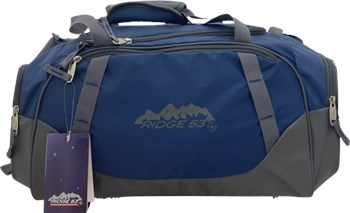 Sportech Ltd Ridge 53 Fitness Holdall Navy  - Click to view a larger image