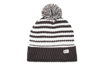 Callaway Mens Pom Pom Beanie Charcoal/White  - Click to view a larger image