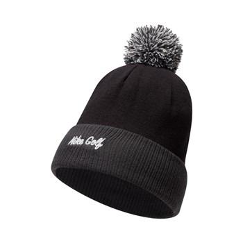 Nike Golf Reversible Statement Beanie Hat Black/Grey