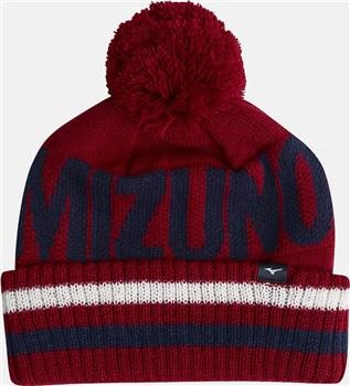 Mizuno BT Bobble Hat Red