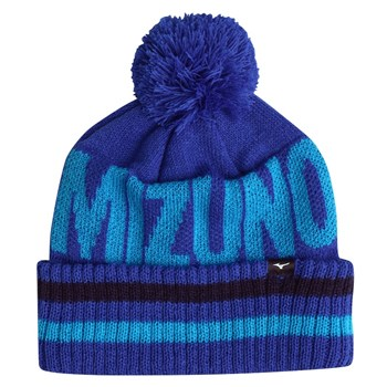 Mizuno BT Bobble Hat Blue  - Click to view a larger image