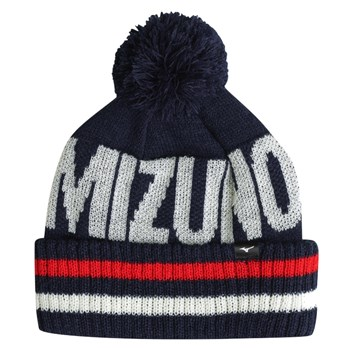 Mizuno BT Bobble Hat Deep Navy  - Click to view a larger image