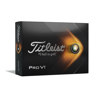 Titleist Pro V1 Golf Balls White 2021  - Click to view a larger image