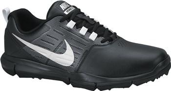 sports shoes e0204 13f0c Nike Golf Explorer Golf Shoes Black Silver Grey