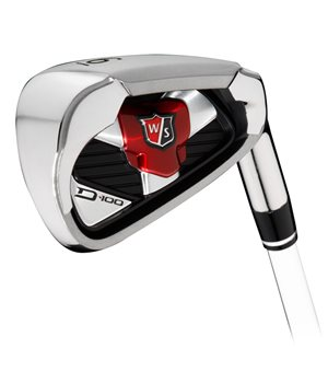 Wilson D100 Steel Irons RH  - Click to view a larger image