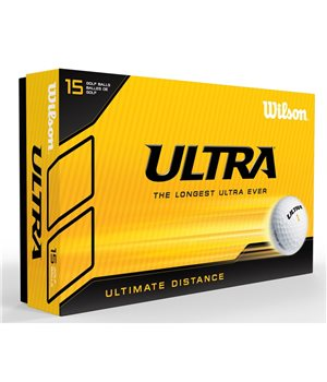 Wilson Ultra 15 Ball Pack White  - Click to view a larger image