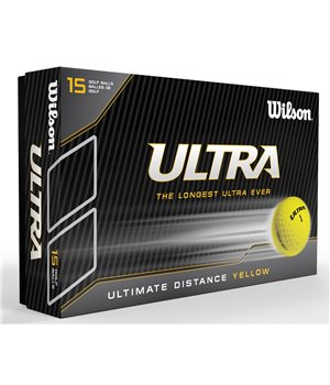 Wilson Ultra 15 Ball Pack Yellow  - Click to view a larger image