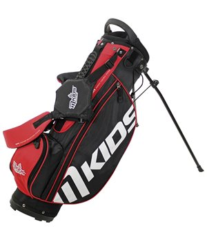 MKids Lite Stand Bag Red  - Click to view a larger image