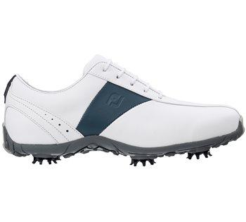 FootJoy LoPro Ladies Golf Shoes White Navy - Klicken zum Ansehen eines größeren  Bildes 1b0d9a10711