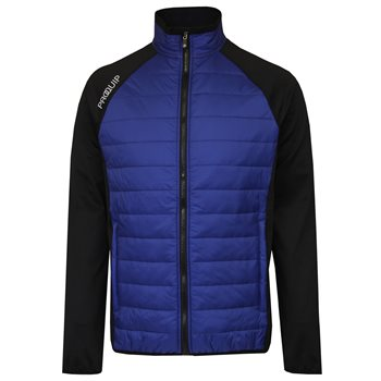 Proquip Therma Jacket Black True Blue  - Click to view a larger image