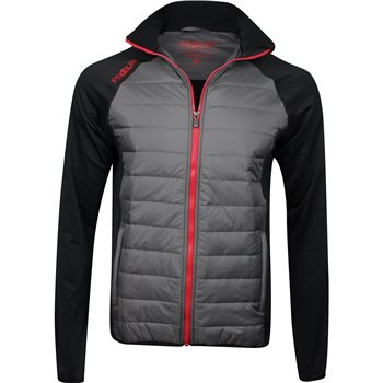 Proquip Therma Jacket Black Mid Grey  - Click to view a larger image