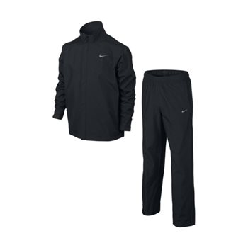 Nike Golf Boys Rain Suit Black  - Click to view a larger image