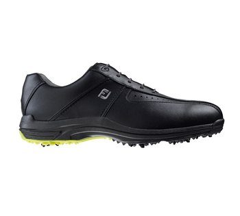 FootJoy Greenjoys Golf Shoes Black 2016  - Click to view a larger image