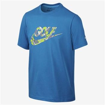 a1a0831f Nike Golf Boys Golf Camo T-shirt Blue/White   HalpennyGolf.com