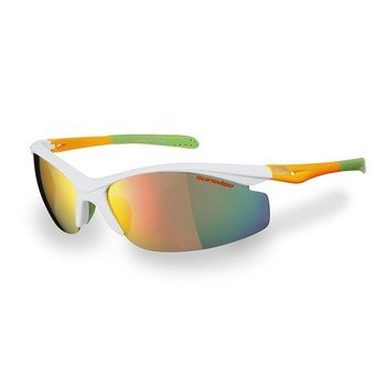 Sunwise Peak MK1 White Frame Sunglasses  - Click to view a larger image