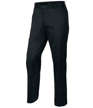 Nike Golf Flat Front Pant Black  - Click to view a larger image