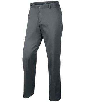 Nike Golf Flat Front Pant Charcoal  - Click to view a larger image