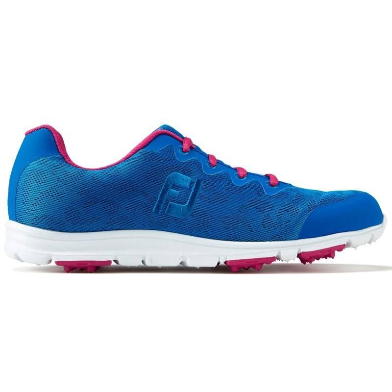 FootJoy Ladies enJoy Spikeless Golf Shoes Wide Fit Cobalt Berry 2017 -  Click to view e6ecd7df15c