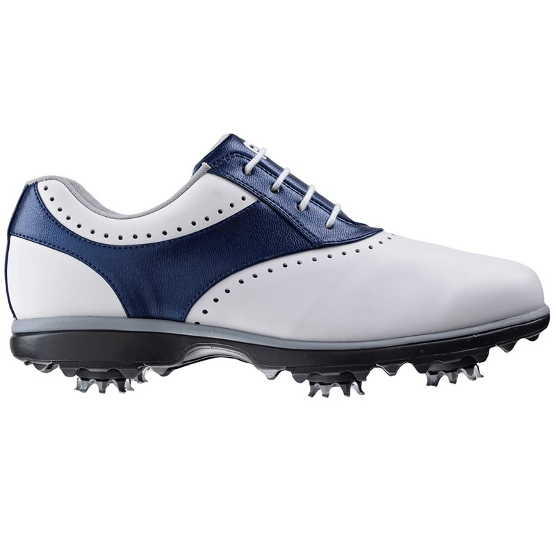FootJoy Ladies eMerge Golf Shoes White Navy - Click to view a larger image 8ed0fb75221