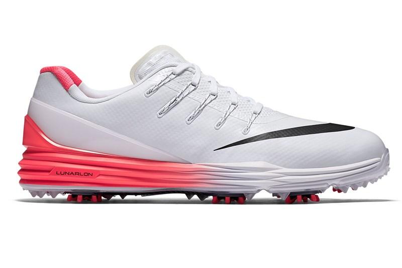 f485bf9965f8bf Nike Golf Lunar Control IV Golf Shoes White Black Crimson - Click to view