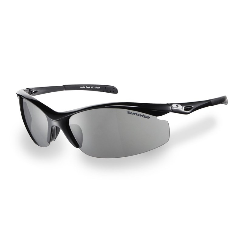 55567cca58 Sunwise Peak MK1 Black Frame Sunglasses - Click to view a larger image